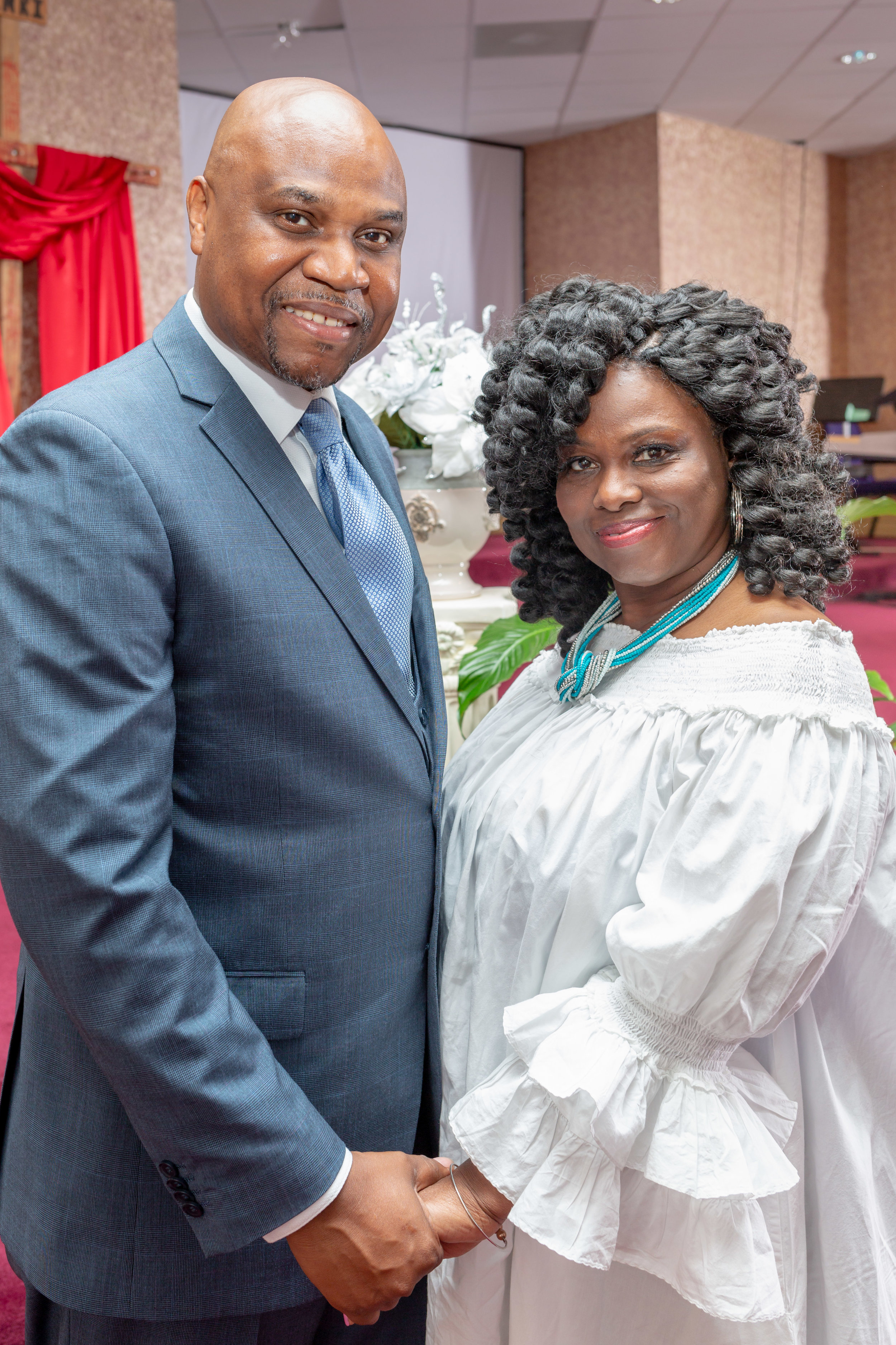 Pastor Christopher & Lady Dandra Wetherspoon, Kings Dominion Intl' Min.