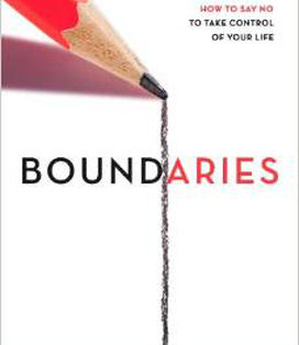 Boundaries: When to Say Yes, How to Say No to Take Control of Your Life - Cloud and Townsend give biblically-based answers to tough questions about setting limits and healthy boundaries - very helpful in families with prodigal children. Having clear boundaries is essential to a healthy, balanced lifestyle.