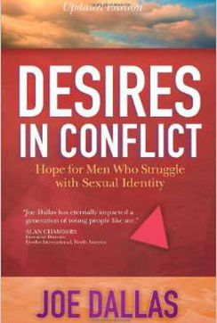 Desires in Conflict - Written directly to the Christian who struggles with homosexual temptations, yet a great resource for family and friends who wish to assist the person who is struggling. For more than a decade, this book has been the definitive