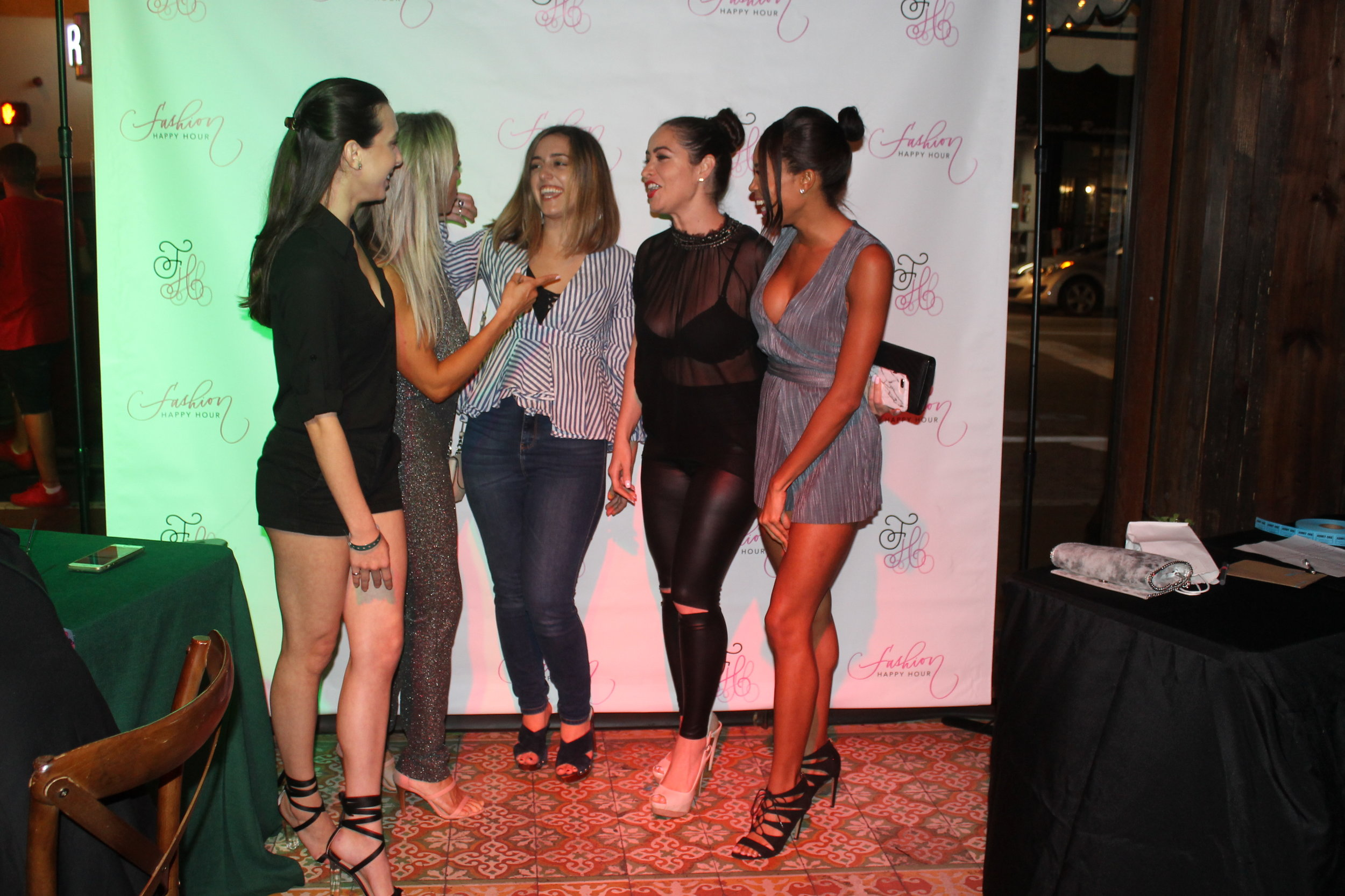 FASHION HAPPY HOUR STRIVES TO CREATE A ONE-OF-A KIND AND VERY CHIC community FOR YOUNG ENTREPRENEURS AND FASHION ENTHUSIASTS IN THE FASHION AND ARTS INDUSTRY TO NETWORK AND HAVE FUN AT THE SAME TIME. -