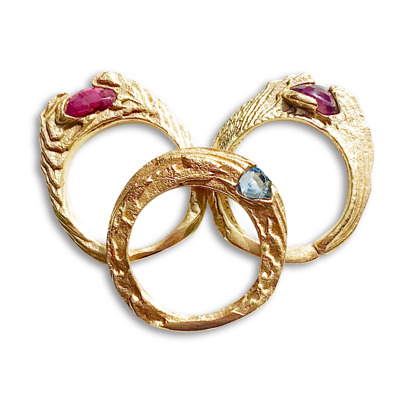 CUTTLEFISH GOLD RINGS