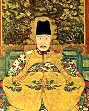 《明世宗像》(局部)(圖 Wikimedia Commons)