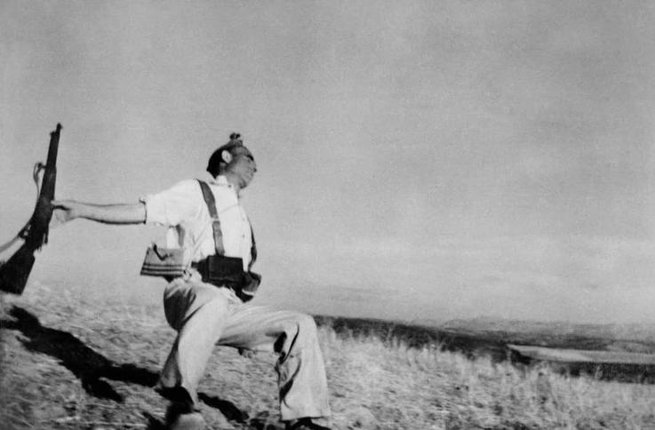Falling Soldier, 1936, by Robert Capa
