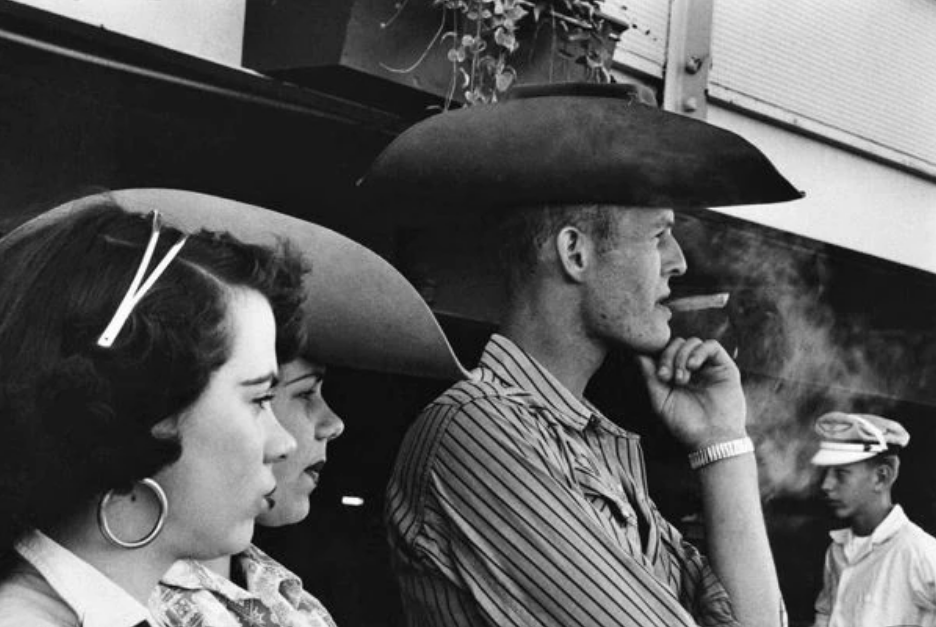 Rodeo, Detroit - 1955 ©Robert Frank, courtesy of the Pace/McGill collection