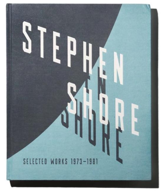 Stephen Shore,《Selected Works 1973 - 1981.》出版社:Aperture,272頁,150張圖片。