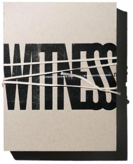 Sanjay Kak,《Witness: Kashmir 1986—2016 / Nine Photographers》出版社:Yaarbal,400頁,200張圖片。
