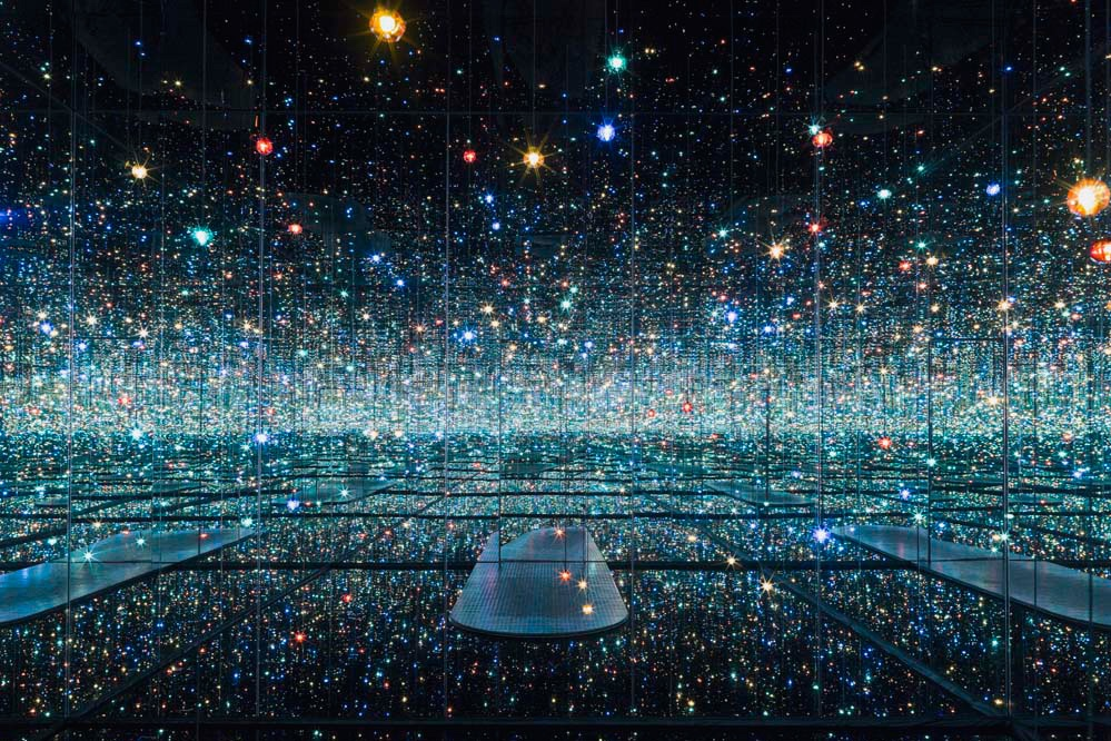 "Yayoi Kusama's ""Infinity Mirrored Room—The Souls of Millions of Light Years Away"""