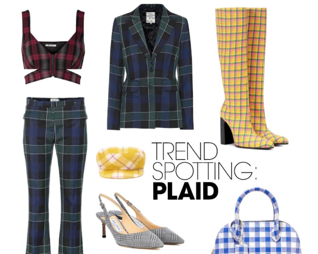 7 Ways to Add Plaid to Any Outfit in Spring/Summer 2019.