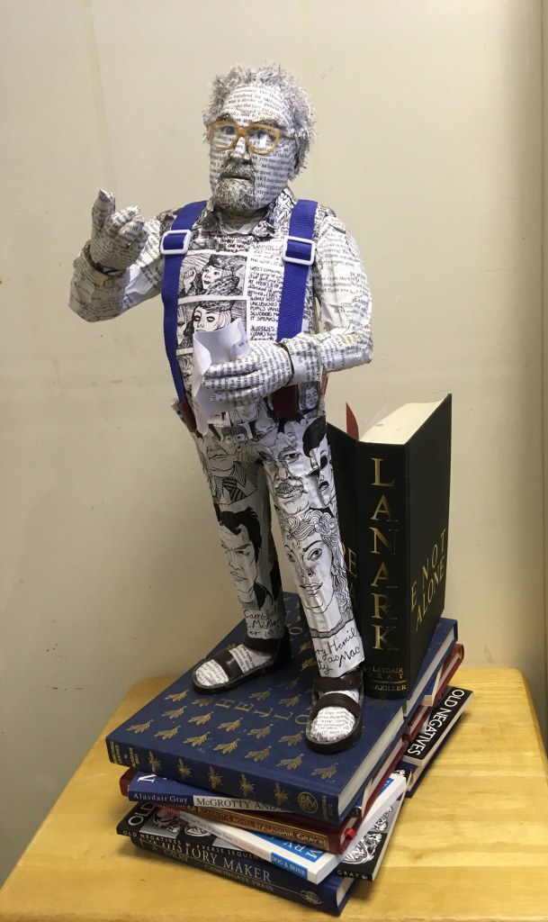 Alasdair Gray. Book Sculpture.jpg