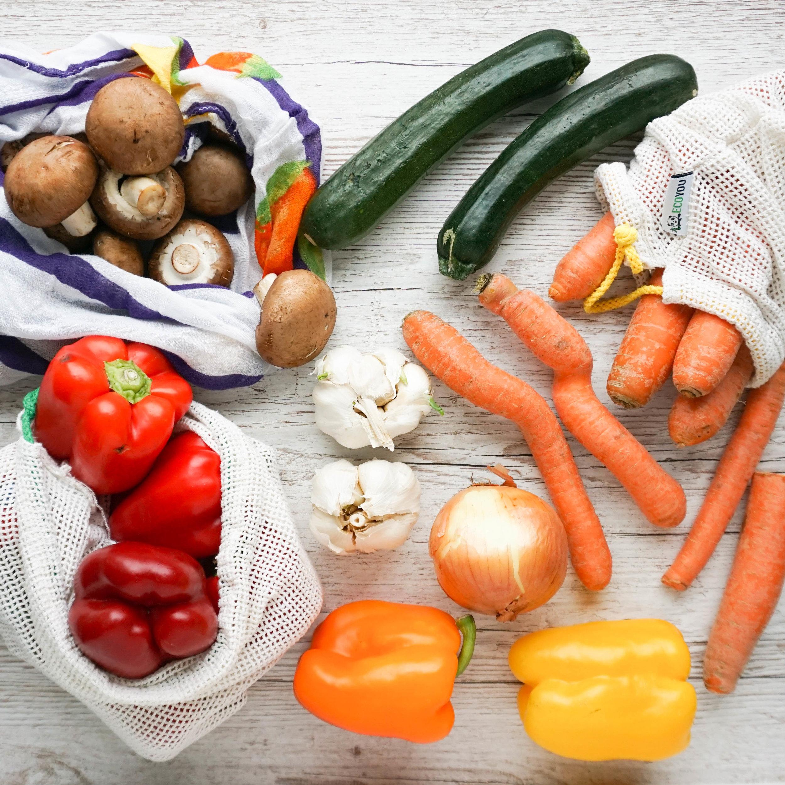 plastikfrei einkaufen Obst und Gemüse - Jahresrückblick der Nachhaltigkeit 2018.jpg