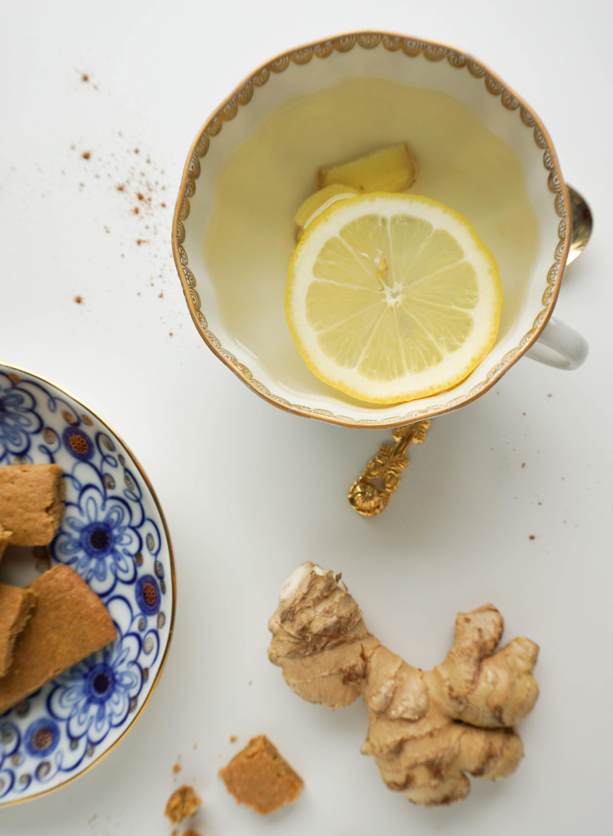 Zero Waste Tee mit Zitrone und Ingwer - Jahresrückblick der Nachhaltigkeit 2018.jpg