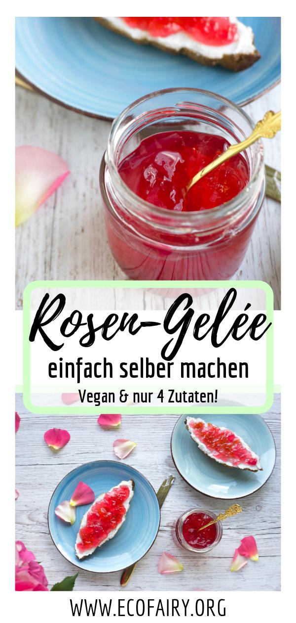 Rosen-Gelée einfach selber machen (Vegan) Pin.png