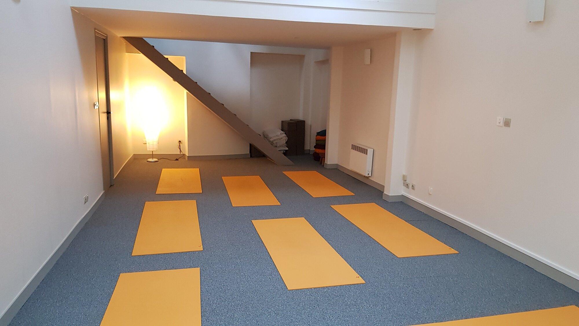 Nouveau !Cours de yoga | Vendredi 8 h-19 h 15 & 19 h 15-20 h 45 - Pour une pratique approfondie et une récupération optimale en fin de semaine.Informations et inscriptions.