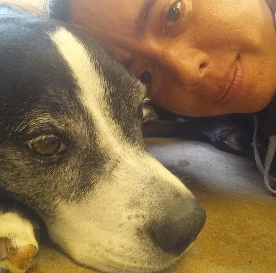 jennifer haratani - I'm Jen... aka Shadow's mommy! I'm 44 years old and retired 5 years ago due to my multiple sclerosis. I am blessed to be able to spend my good days assisting Robbie in following his dreams and saving dogs. I want every dog and family to experience the pure bliss that I experience everyday with Shadow & Dallas. My heart belongs to our senior fospice babies. Please help us give them the safety, dignity and love they deserve.Jen will be at the finish line cheering on our Team. To donate to Jen's campaign please visit:fundly.com/jennifer-haratani-sos-dog-rescue-marathon-2020-runningforrescues