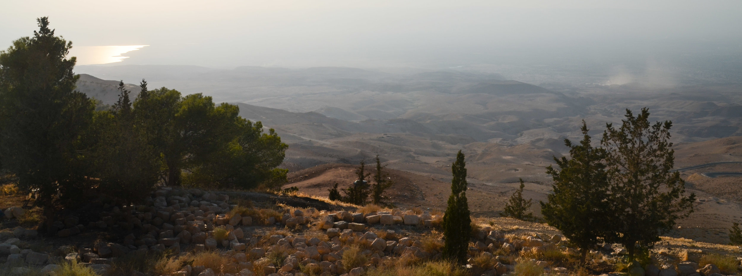 Moses' view of the Promised Land from Mount Nebo, Jordan