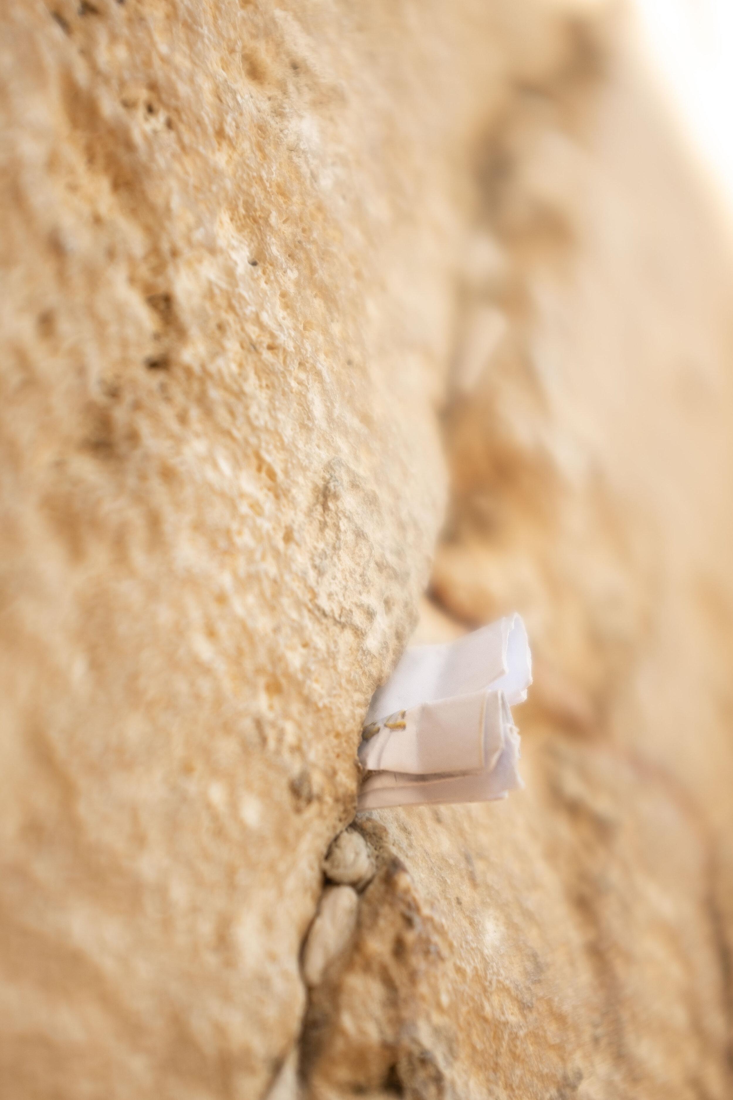 Prayer in the Western Wall, Jerusalem