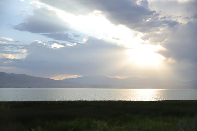 Golden Hour at Vineyard Beach, Utah