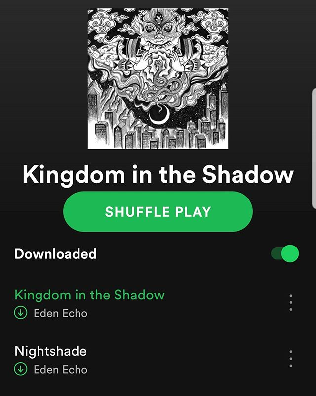We are now live on all platforms! . . . #edenecho #edenechoband #metal #heavymetal #progmetal #kelownametal #canadianmetal #kingdomintheshadow #spotify #itunes