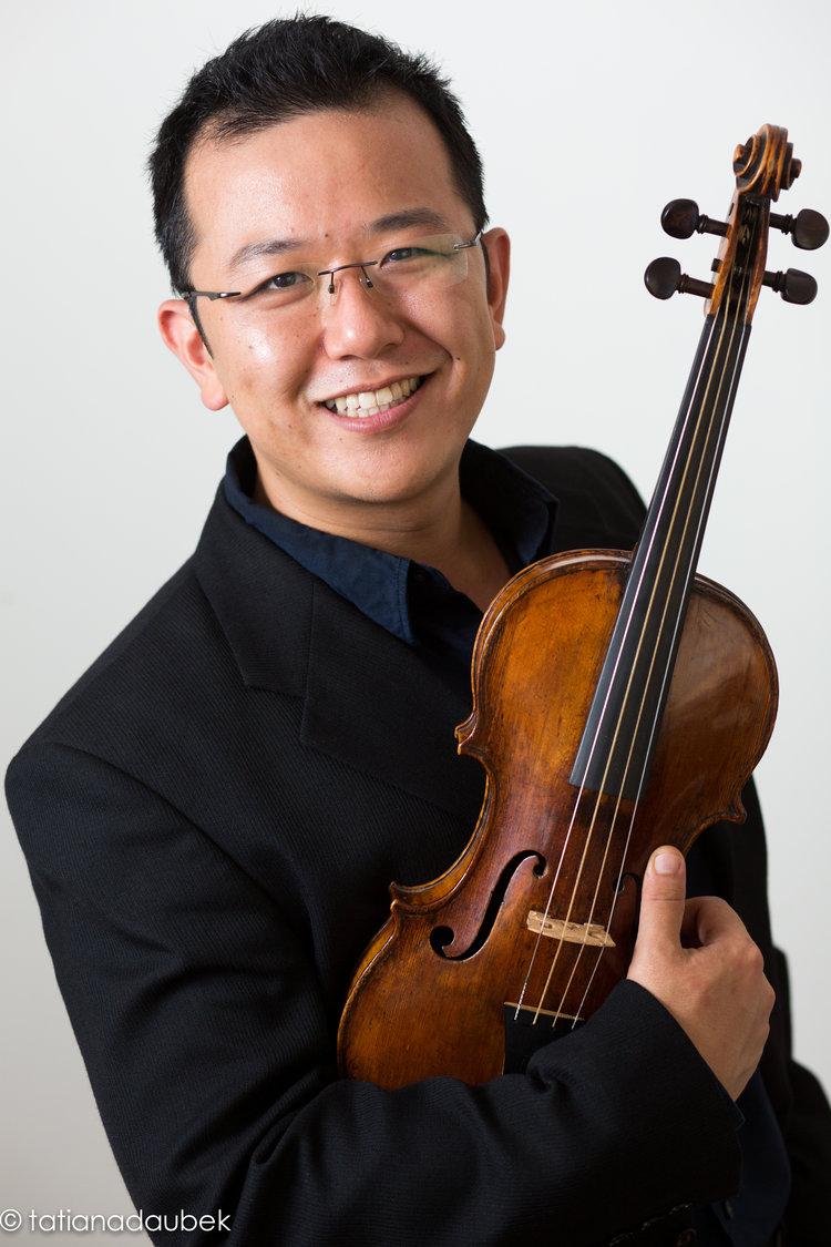 Sam Park, violin