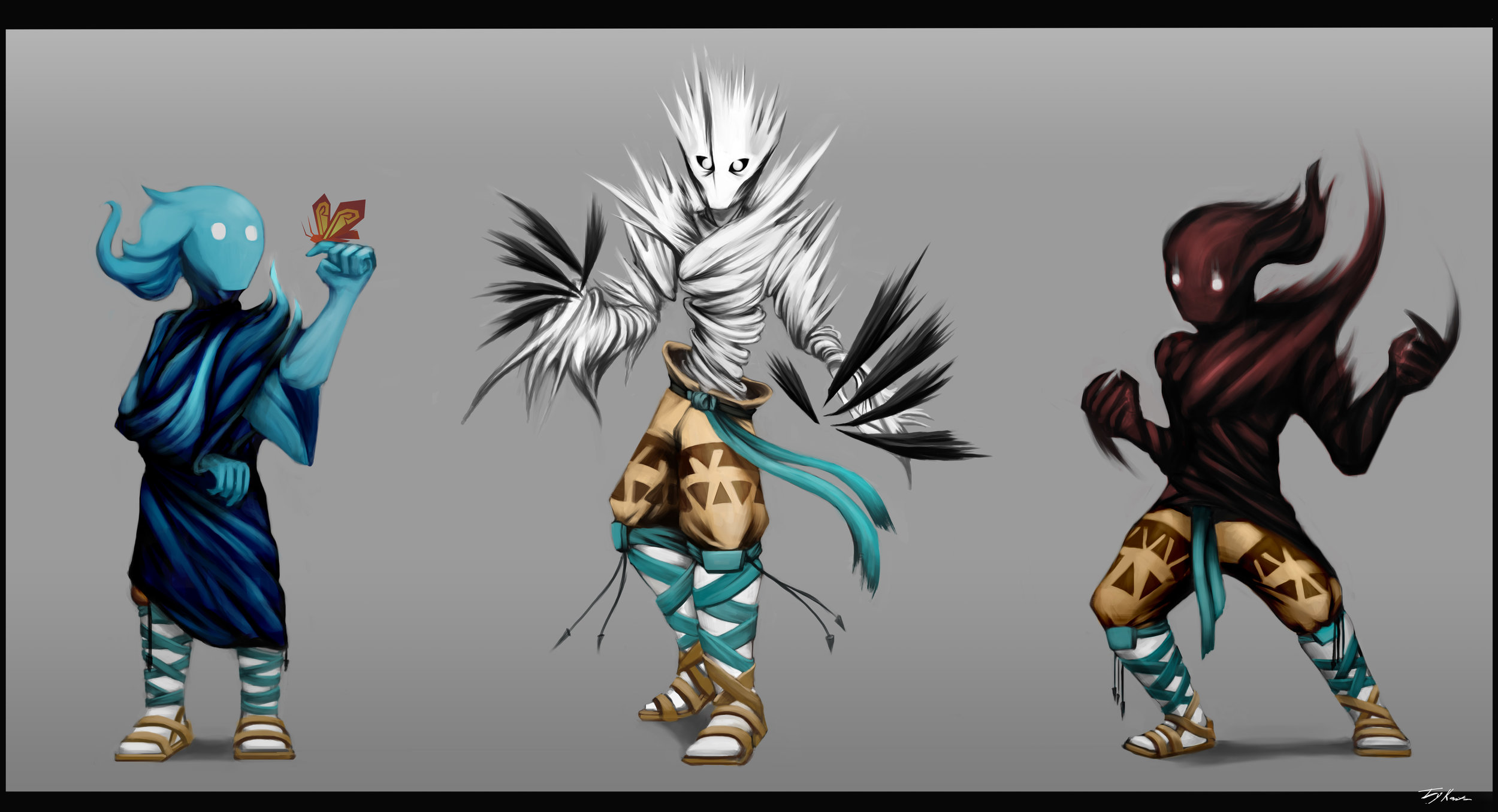 Elemental Siblings (Joey Kozitza)