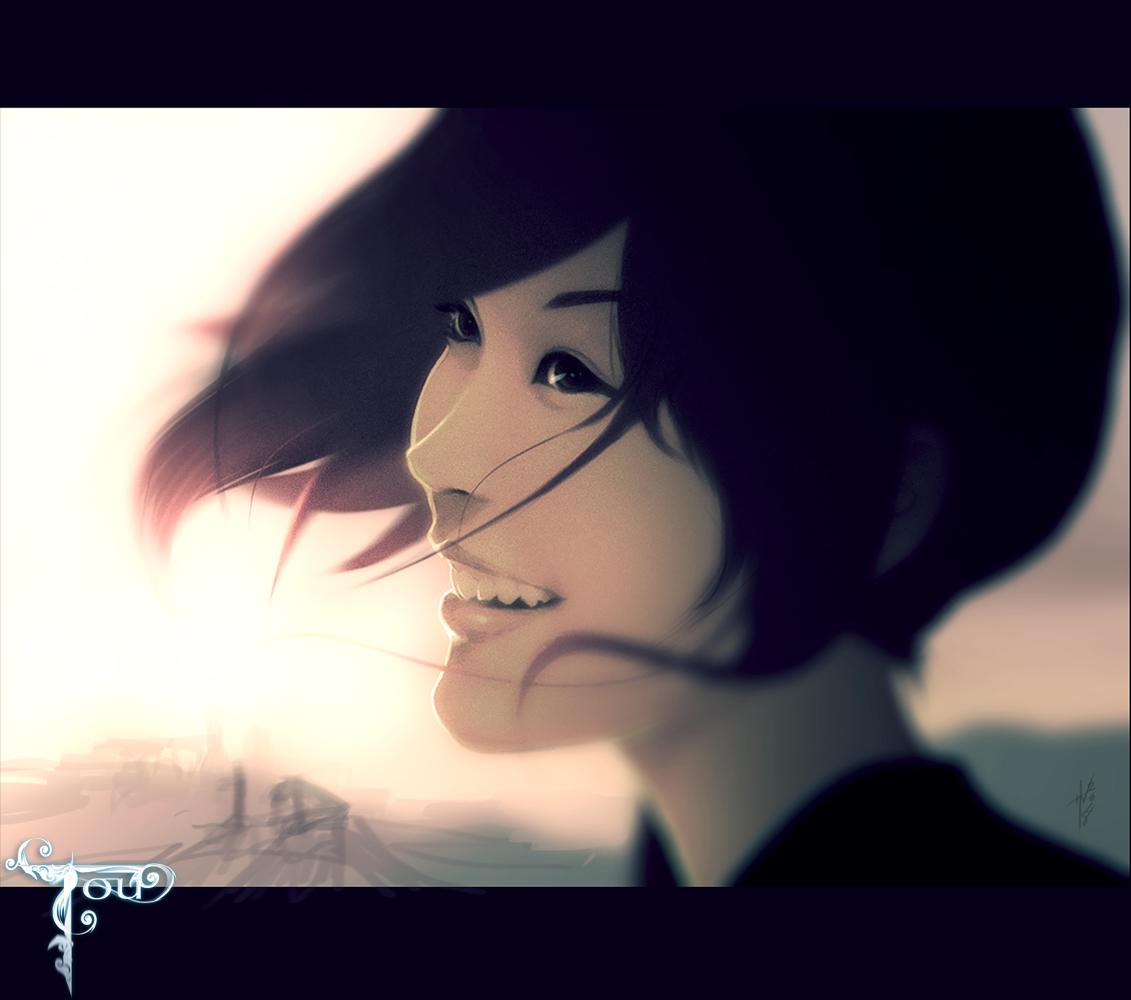 Tou Character Art (Hue Vang)