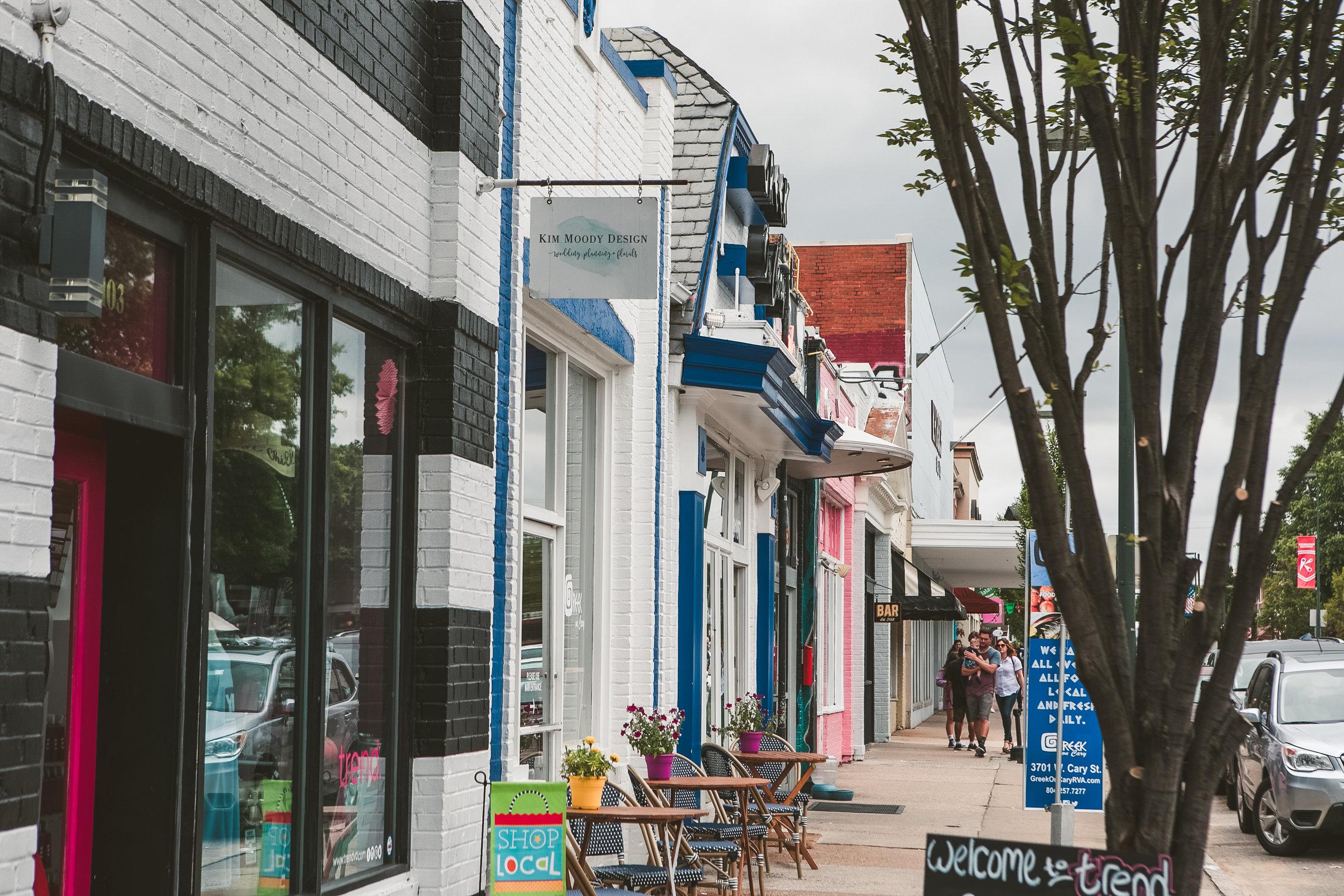 Richmond VA - Carytown RVA Neighborhood - Street Store Cary 02.JPG