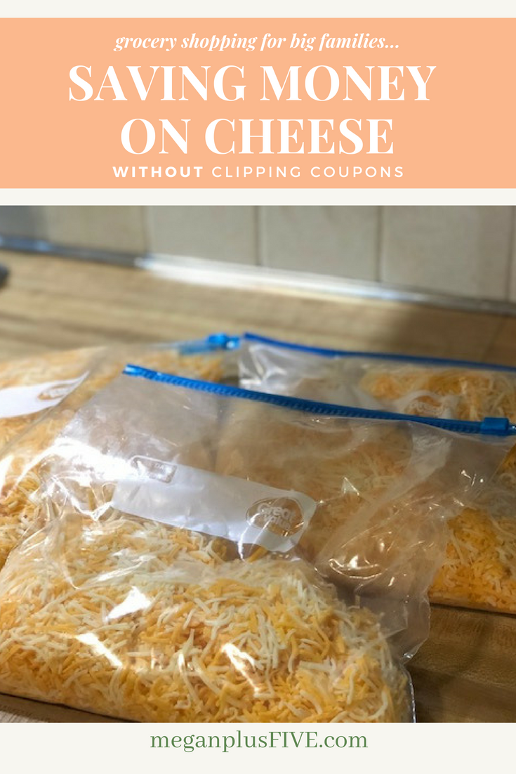 How to save money on cheese WITHOUT clipping coupons