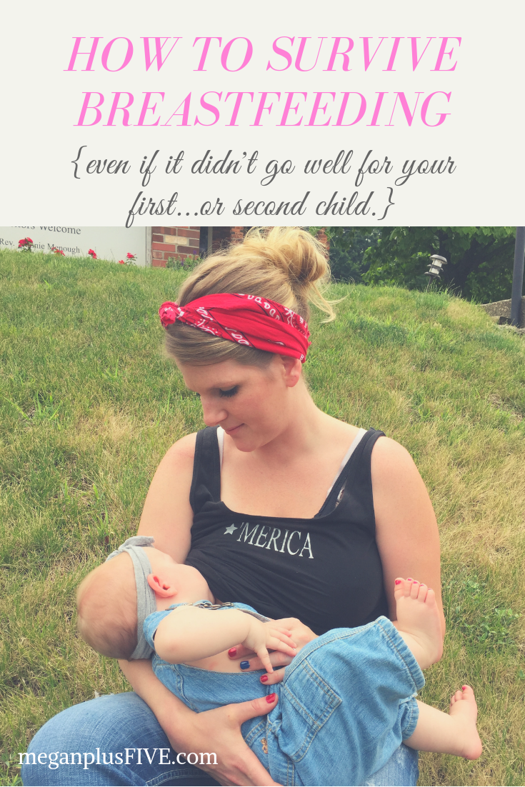 How I survived 16 months breastfeeding our fourth {and last} baby