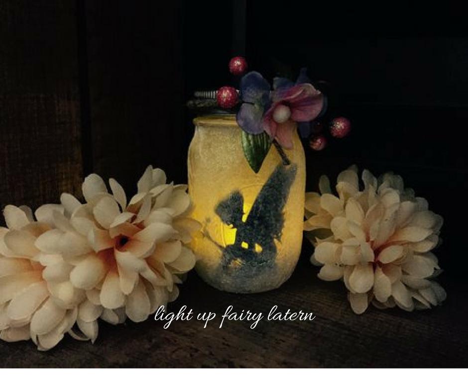 DIY Light Up Fairy Jar