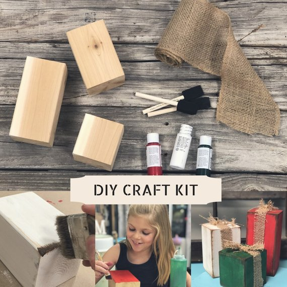 DIY simple rustic wooden Christmas presents, how to make your own