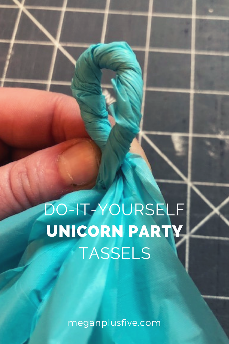 DIY Tassel Garland, make your own for just pennies each