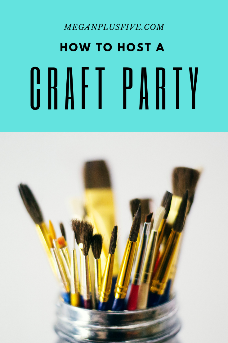 How to host an adult Pinterst party