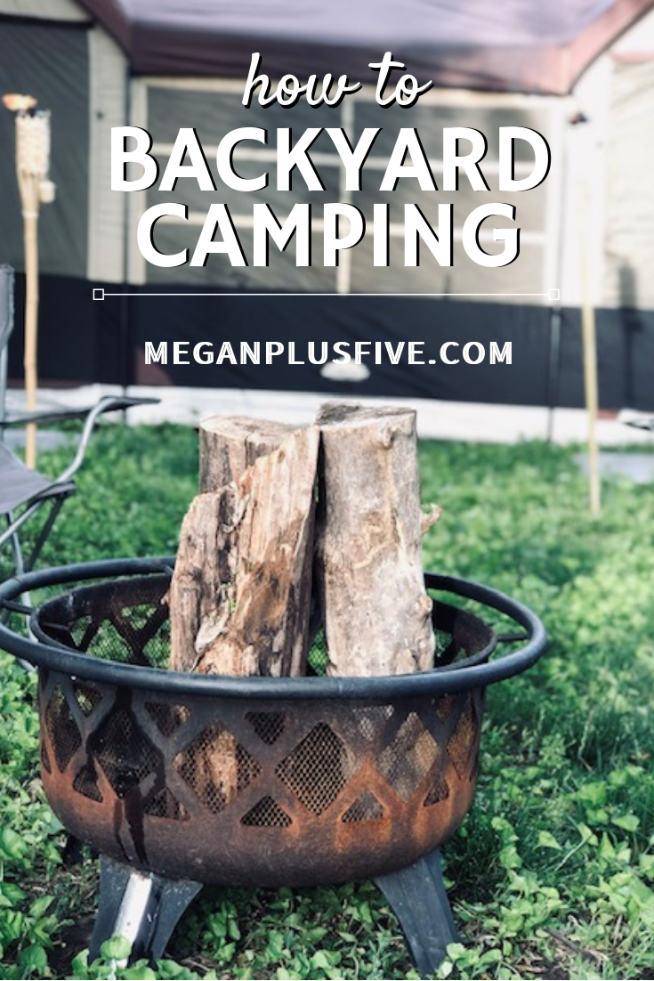 How to have a fun backyard camping experience with the kdis