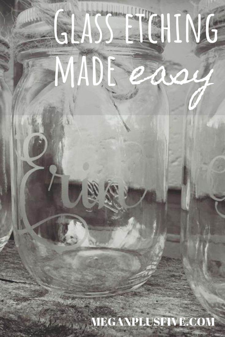 Learn how to etch glass the easy way