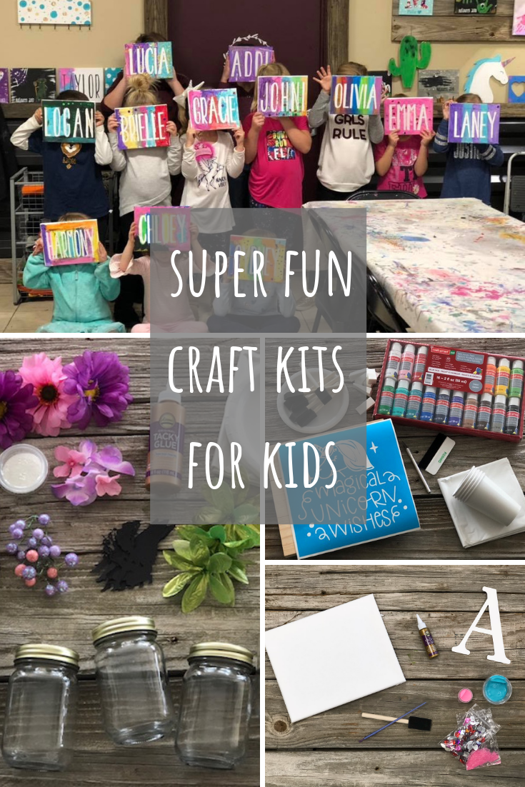 5 awesome craft kits your kids will love. Totally kid approved