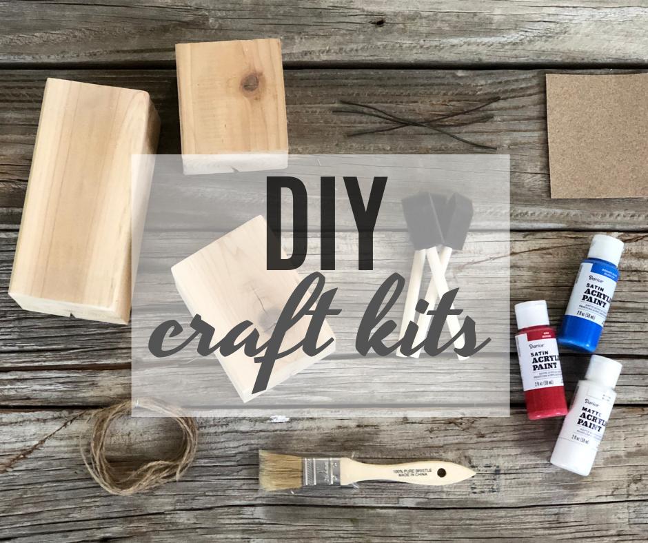 DIY craft kits, Megan plus FIVE