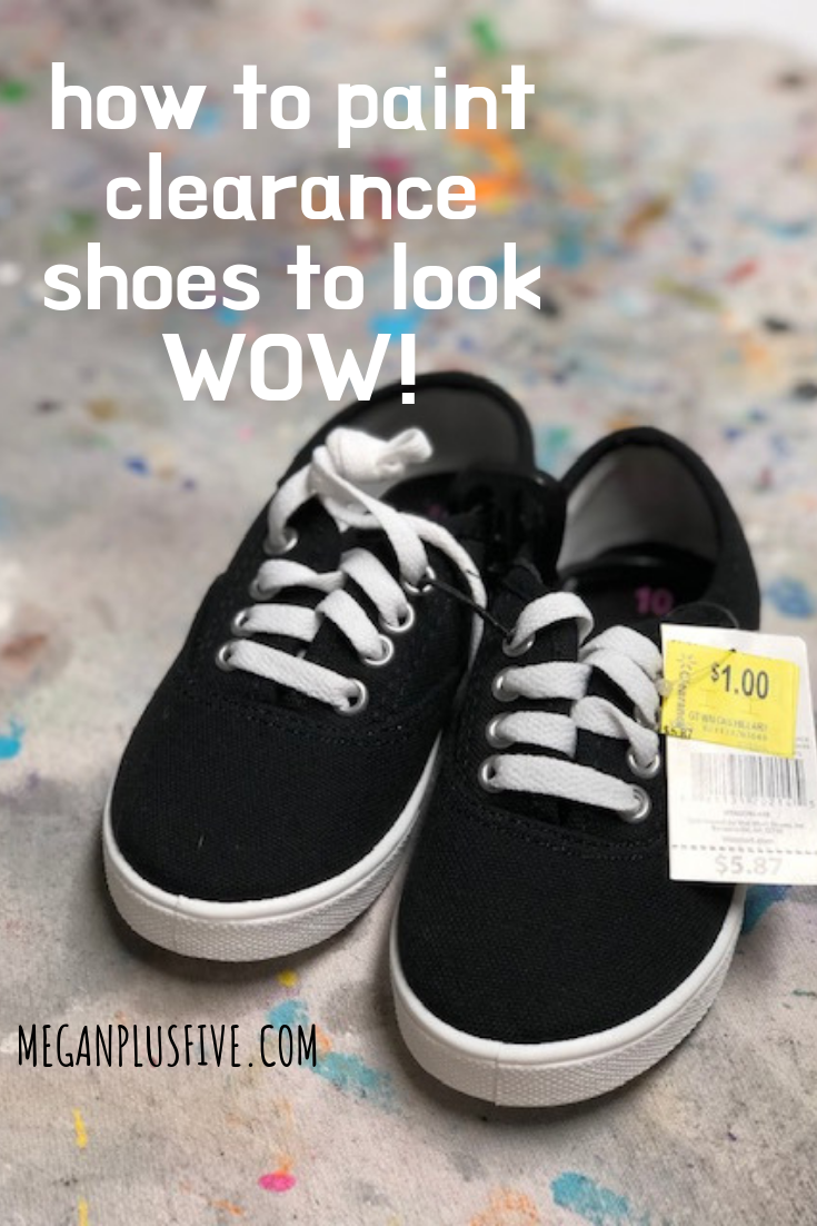 how to paint on clearance shoes to make them look wow
