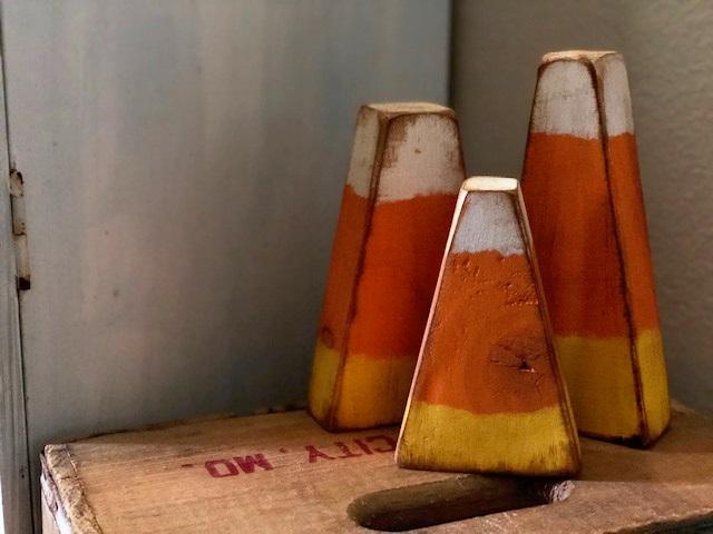 DIY how to make 2x4 wood candy corn