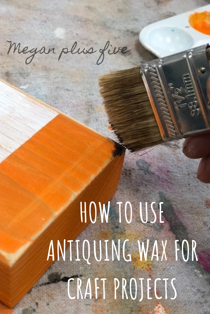 HOW TO USE ANTIQUING WAX FOR CRAFT PROJECTS. Antiquing wax is great for adding so much character to your DIY crafts. Whether you love the farmhouse, country chic, or primitive look you NEED the touch of antiquing wax to bring out the beautiful flaws in your project.