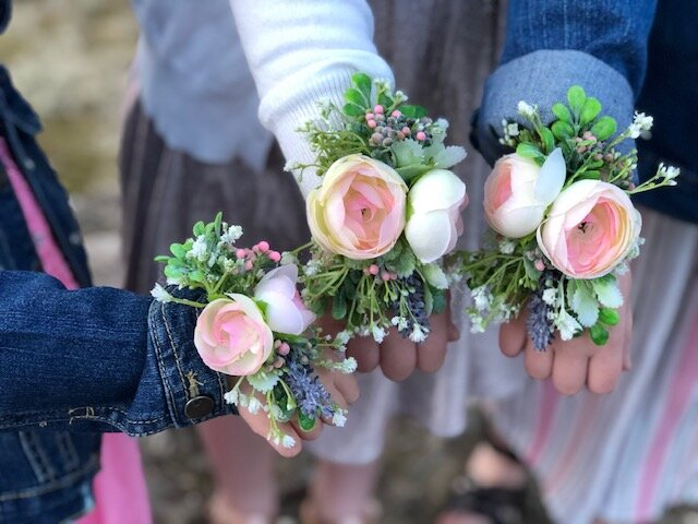 How to make your own corsage with faux flowers