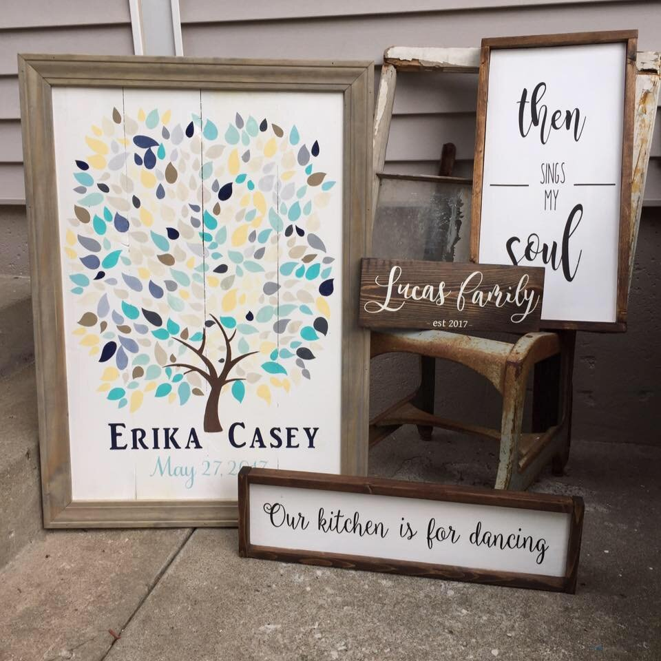 6 MUST haves for stenciling your own painted wood signs