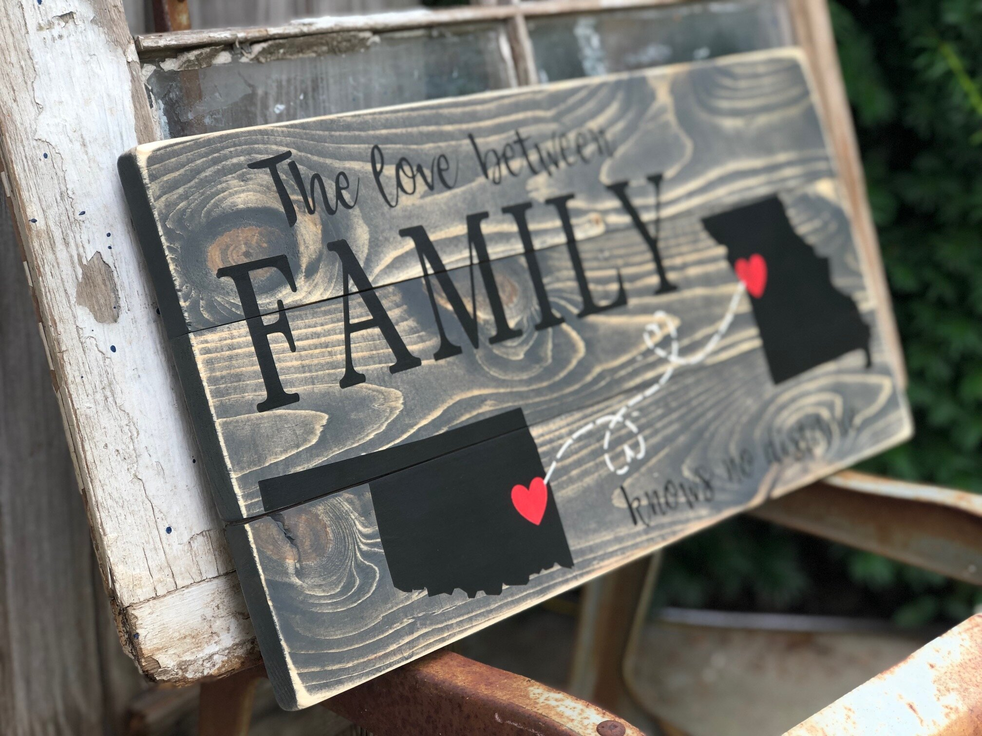 How to build a pallet style sign from new wood. Make your own pallet sign. Build a rustic style pallet sign.