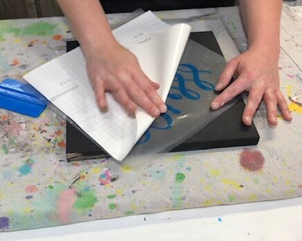 DIY sign painting tutorial. How to make a reverse stenciled sign. Painting a wood sign with no paint bleed, paint peel up, crisp lines.DIY sign painting tutorial. How to make a reverse stenciled sign. Painting a wood sign with no paint bleed, paint peel up, crisp lines.