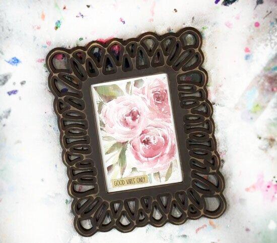 Hobby Lobby picture frame makeover