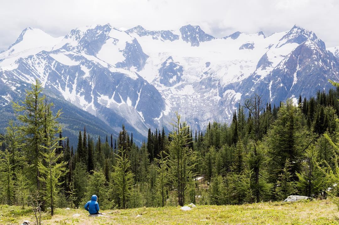 Mountain biking trails, ski hills, and mountains.