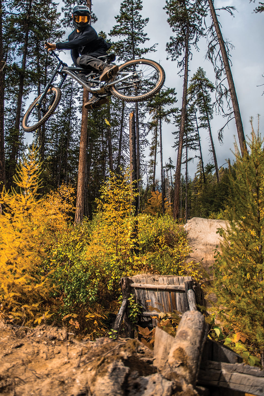 Get Vertical. Ride the trails, mountain bike shuttle.