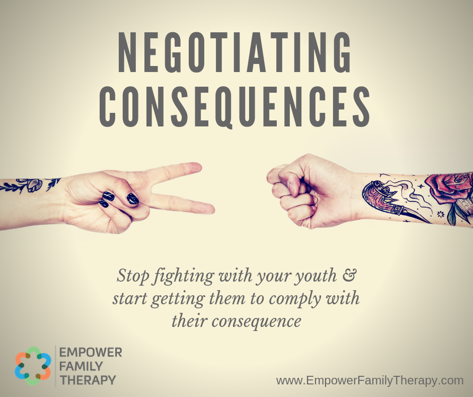 negotiating consequences parenting teen youth