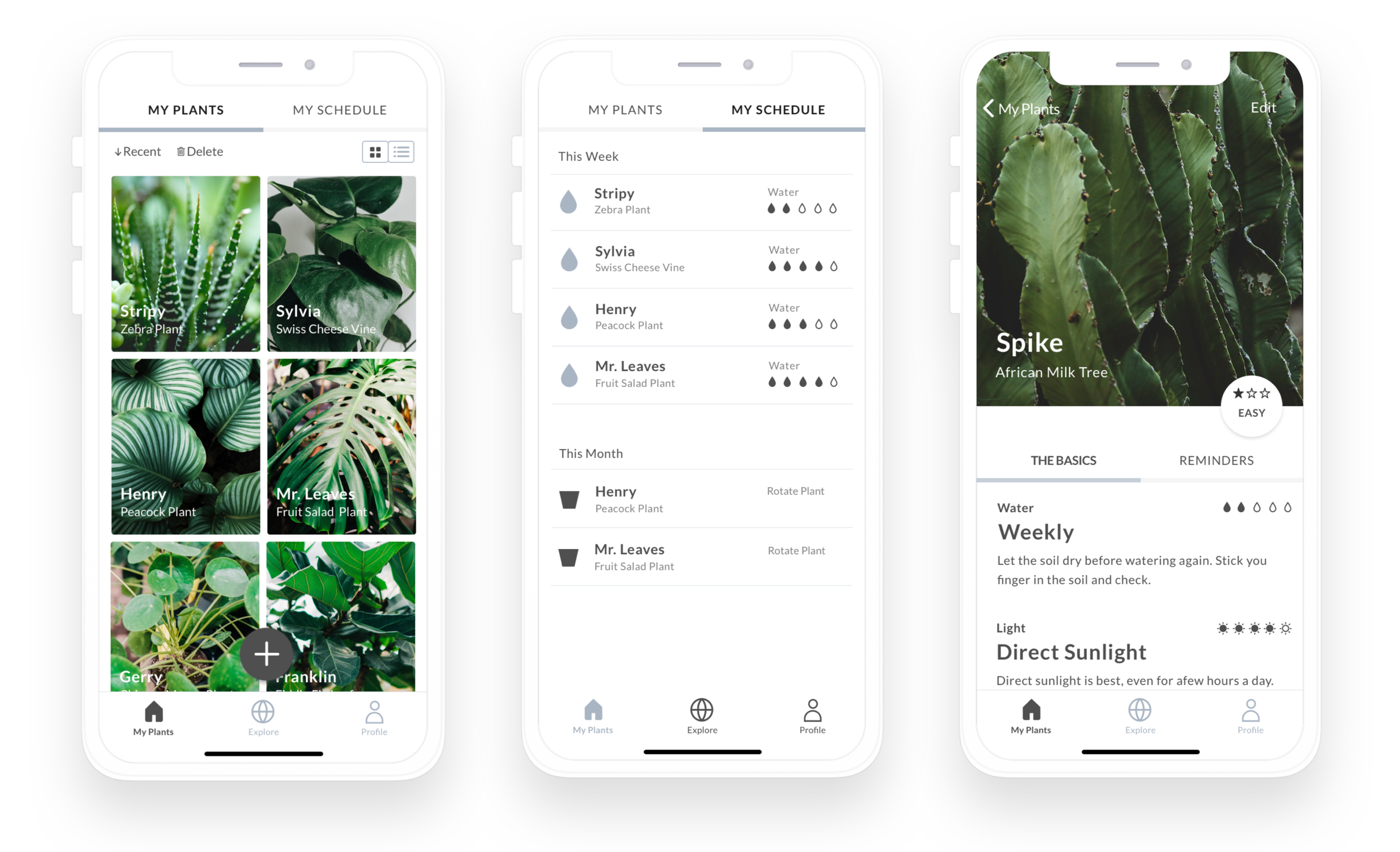 Urban Botanist allows the user to track their plant collection, scheduling routine care and access to plant information.