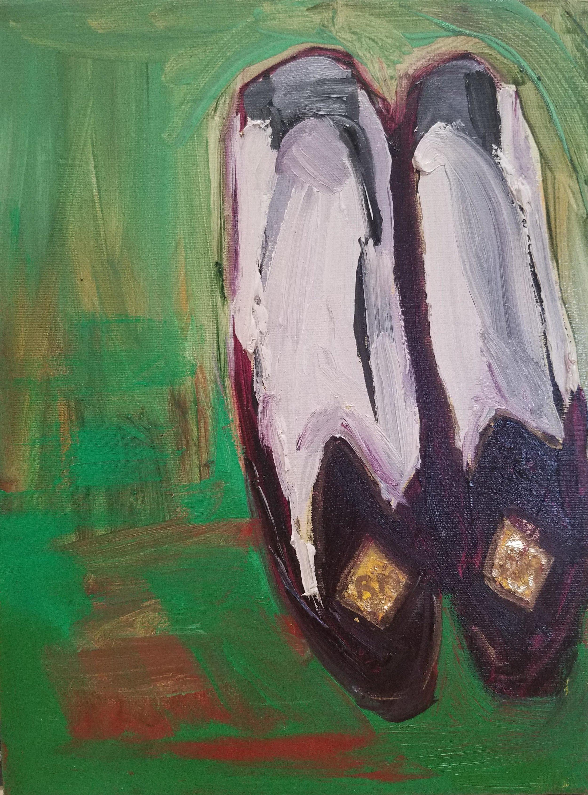 Patti Smith: Pantuflas Robert Mapplethorpe