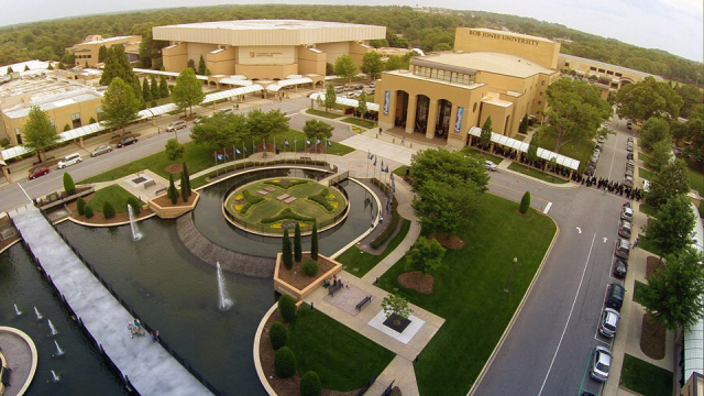 Bob Jones University. |  Photo from BJU's Facebook